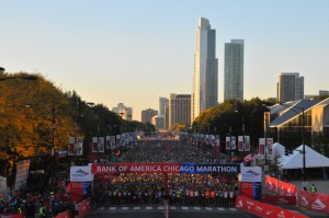 Peeing the Chicago Marathon