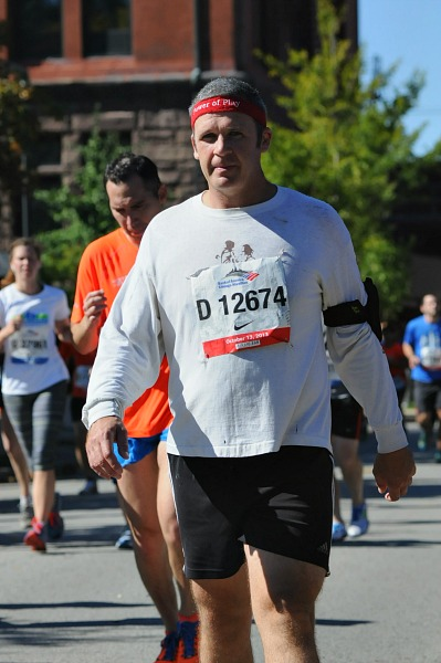 running Chicago Marathon