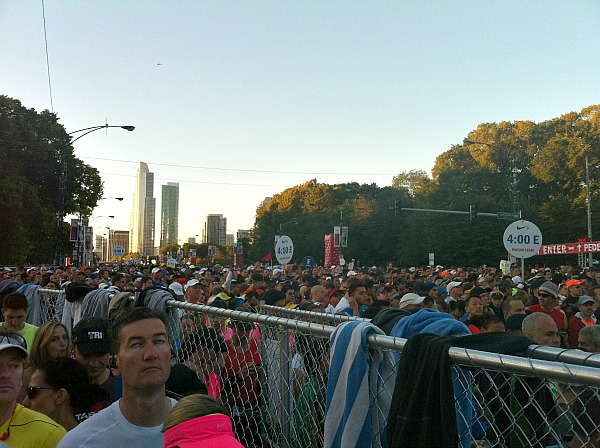 Chicago Marathon pace clubs