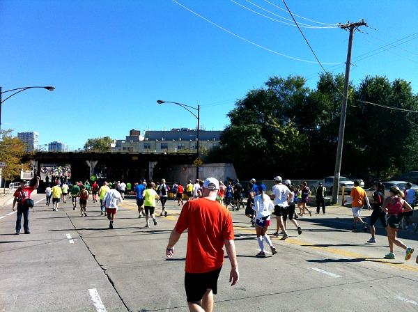 Running the Chicago Marathon