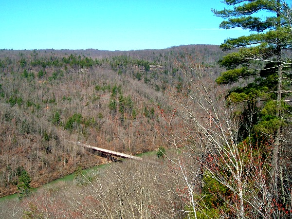 Leatherwood Trail overlook
