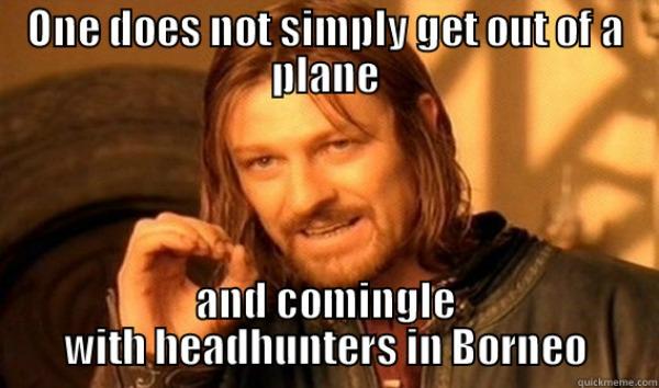 Borneo jungles