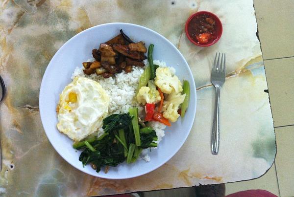 Breakfast in Kuching