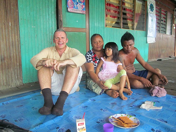 Borneo longhouse adventure