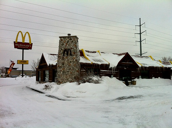 Hayward Wisconsin McDonald's travel tale