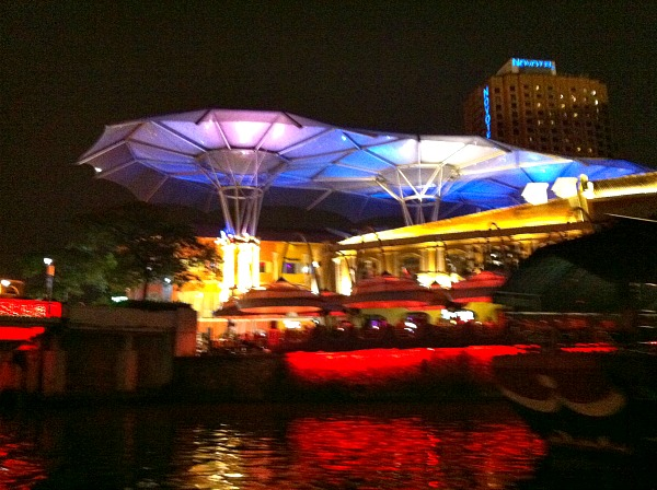 Singapore River night cruise
