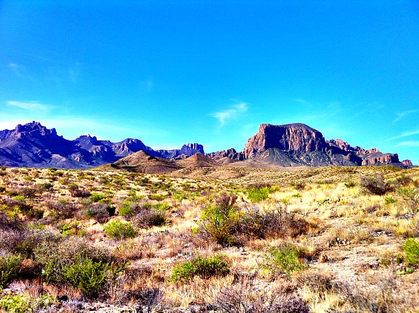 Chisos Mountains Texas