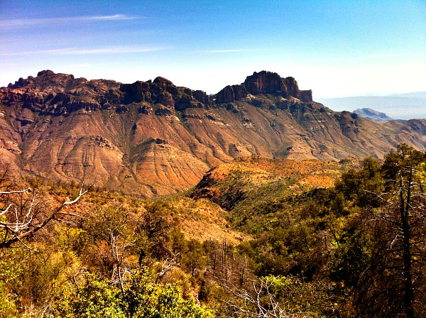 Chisos Mountains Big Bend Texas