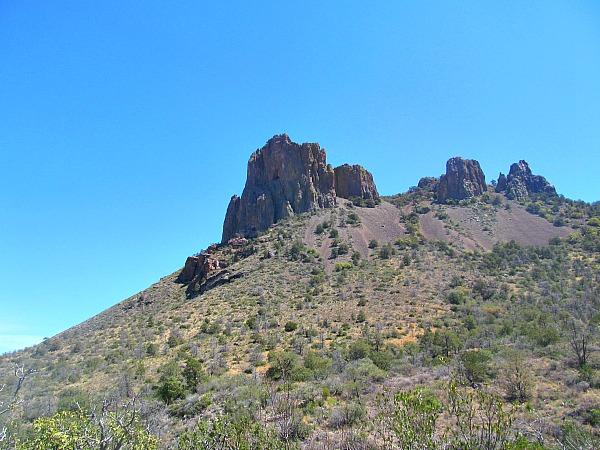 Big Bend Chisos Mountains