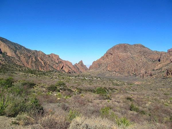 Big Bend Chisos hike