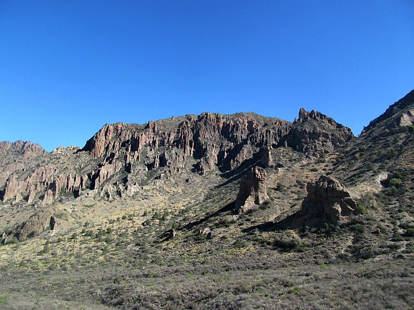 Big Bend Chisos Mountains