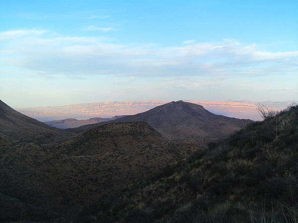 Sierra del Carmen Mountains Mexico