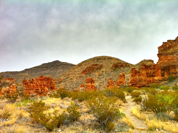 Big Bend Outer Mountain Loop
