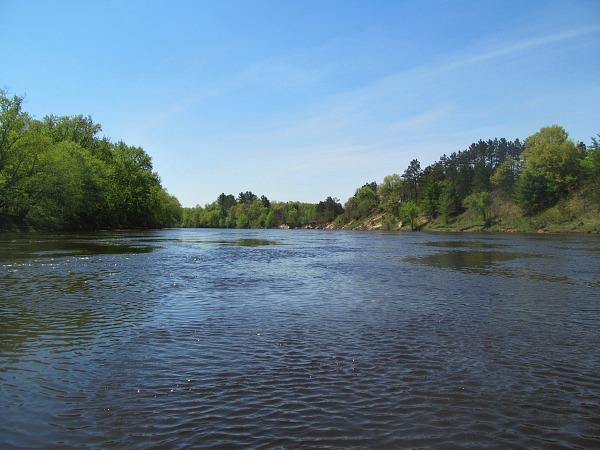 Black River Wisconsin canoe adventure