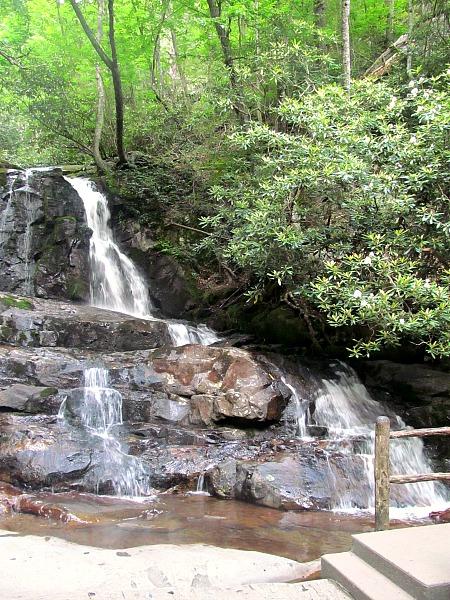 Three Great Smoky Mountain waterfalls