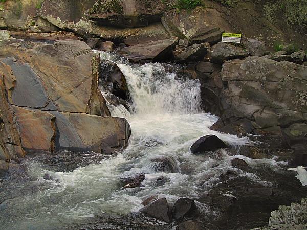 Three Smoky Mountain waterfalls