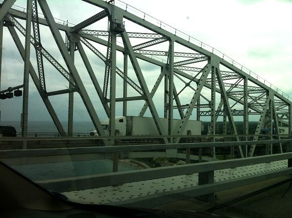 Big Blue Water Bridge