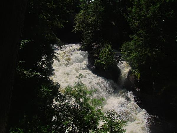 Poutine waterfall adventure