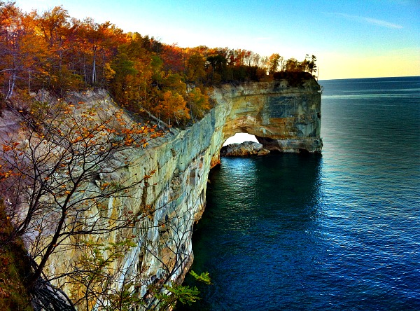 Pictured Rocks Grand Portal Point