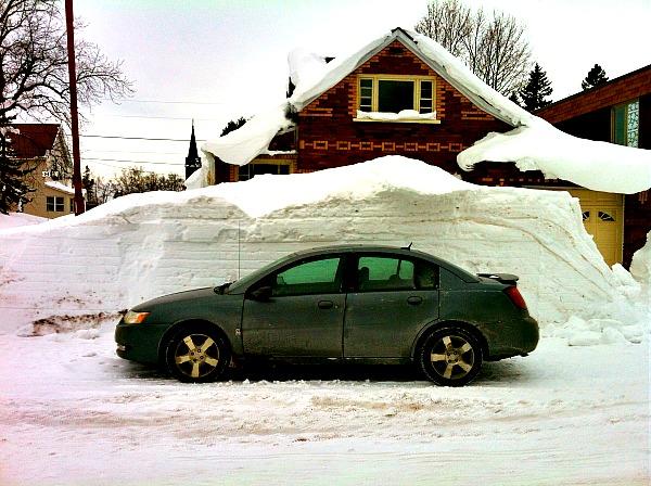 Keweenaw Peninsula Calumet winter
