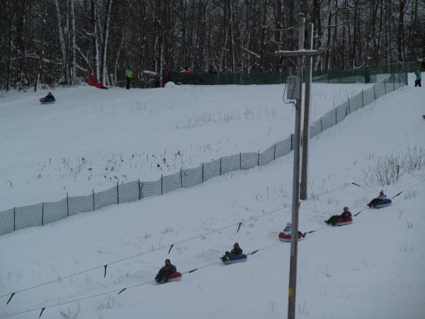 Tubing Minocqua Winter Park