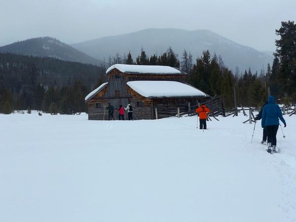 Rocky Mountain National Park snowshoe adventure