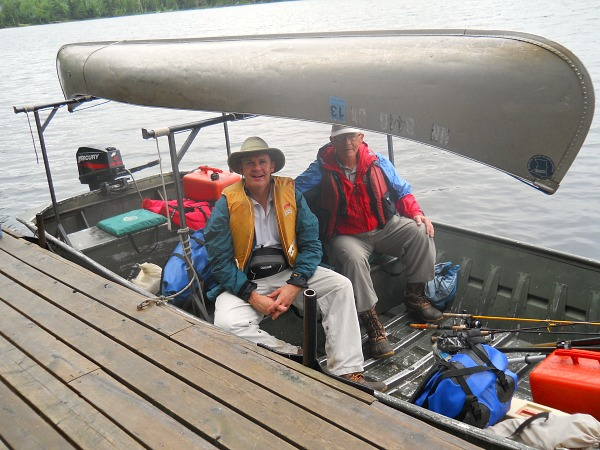 Discover boating Quetico