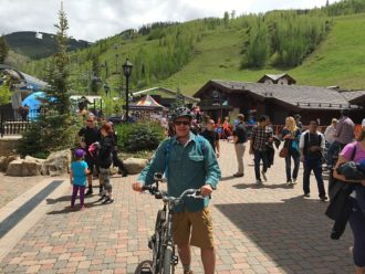 Vail biking adventure