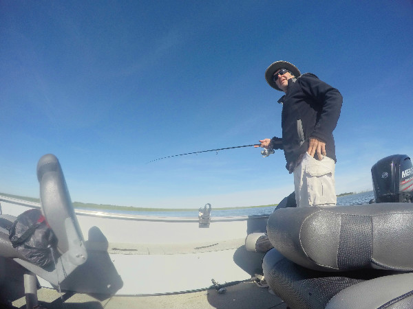 North Dakota walleye fishing