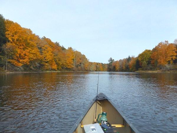 Paddling Wisconsin Flambeau River