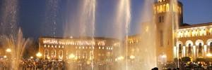 Yerevan singing fountains