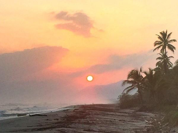Tayrona sunrise