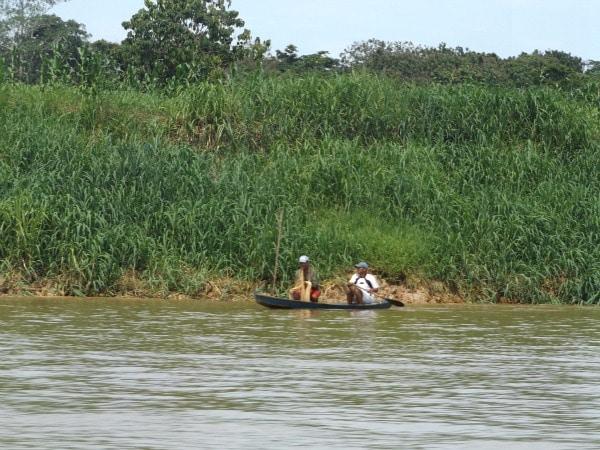Amazon River fisherman