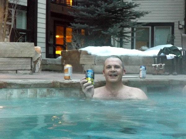 Fraser Crossing hot tub