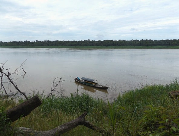 Yavari River Peru Brazil