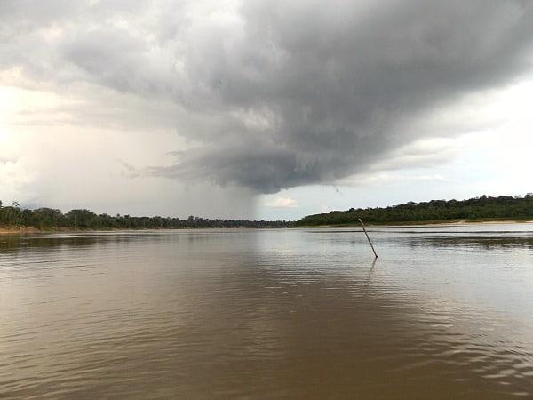 Yavari River storm