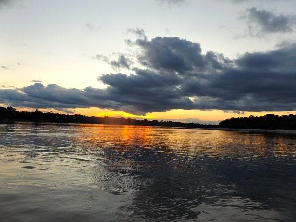 Yavari River sunset