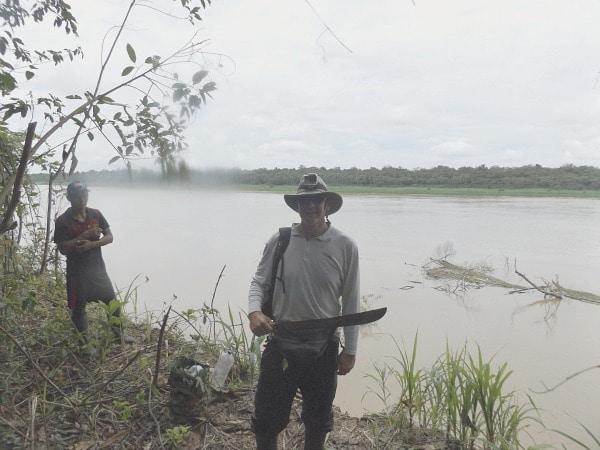 Yavari River machete