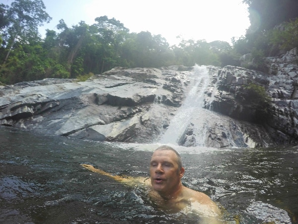 Valencia Waterfall Colombia