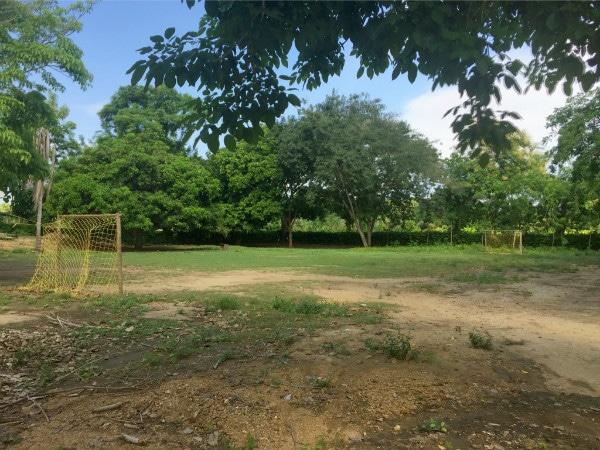 Soccer fields Colombia