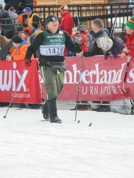 Birkie finish