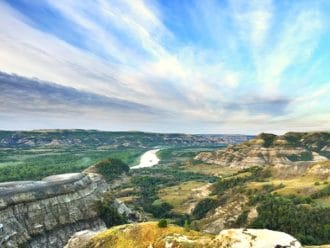 Theodore Roosevelt National Park scenic drives