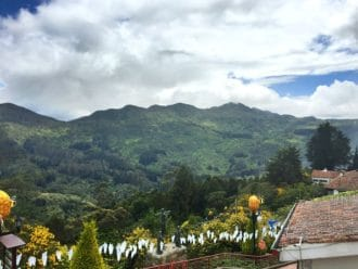Monserrate mountains Bogota