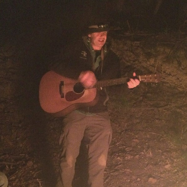 Guitar campfire