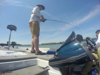 GoPro fishing Traverse City