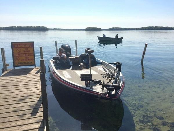 Long Lake Michigan fishing