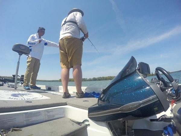 Smallmouth bass fishing Michigan