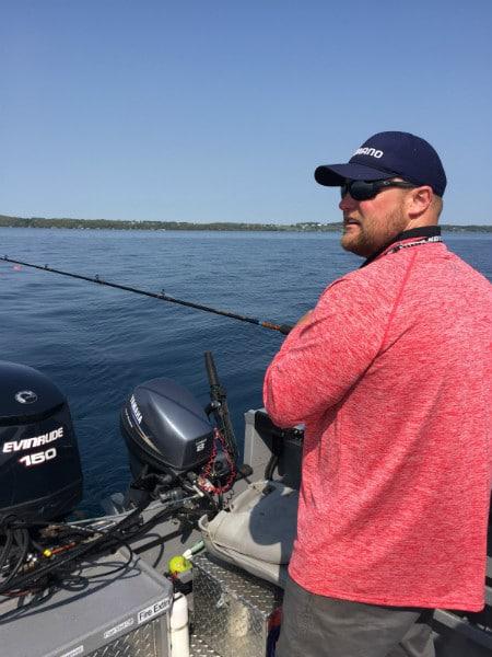 Captain Chad Sports Fish Michigan