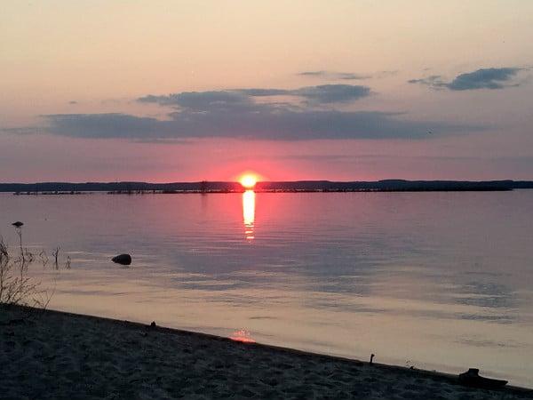 Old Mission Peninsula sunset