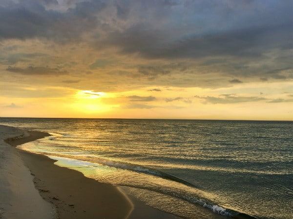 Sunset Sleeping Bear Dunes